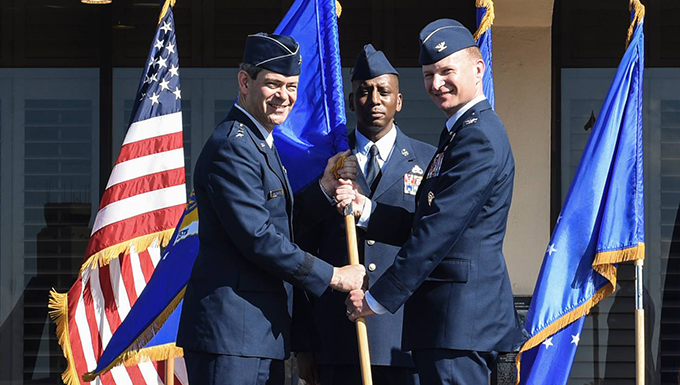 15th Wing welcomes new commander